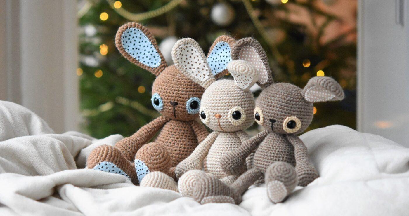 amigurumi bunny crochet challenge 2021