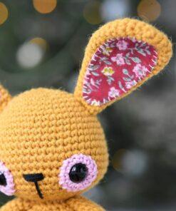 sweet childhood bunny amigurumi pattern