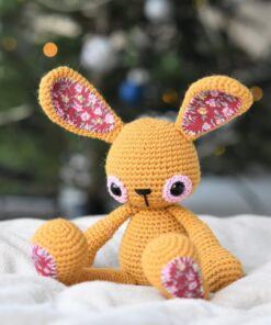 sweet childhood bunny amigurumi pattern