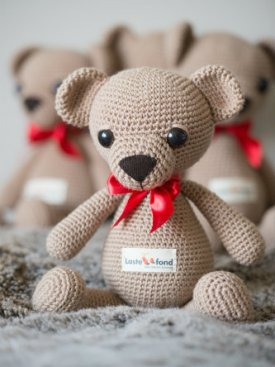 Mõmmik the charity teddy bear
